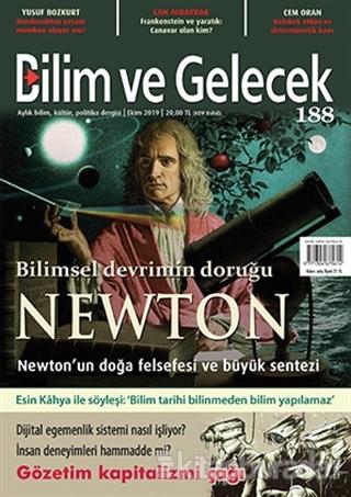 Bilim ve Gelecek Dergisi Sayı: 188 Ekim 2019