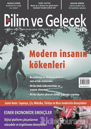 Bilim ve Gelecek Dergisi Sayı: 205 Mayıs 2021