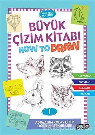 Büyük Çizim Kitabı How To Draw 1