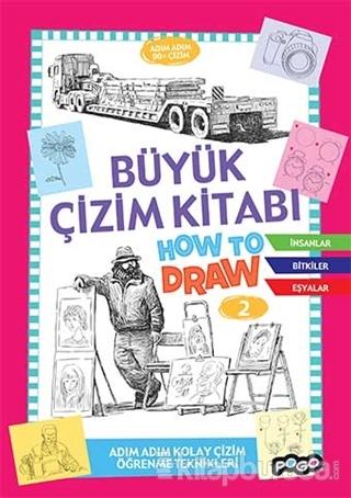 Büyük Çizim Kitabı How To Draw 2