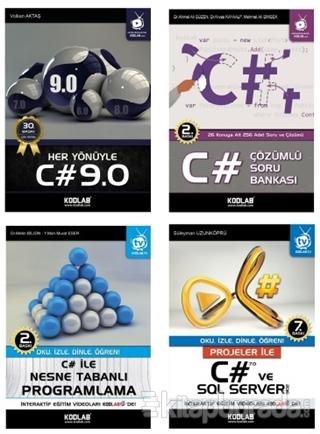 C# Eğitim Seti 2 (4 Kitap Takım)