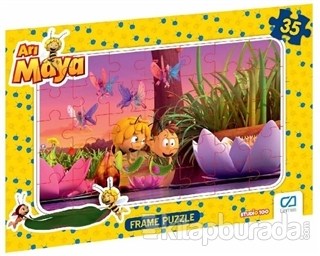 CA Games Arı Maya - Frame Puzzle 2 - Pembe (35 Parça)