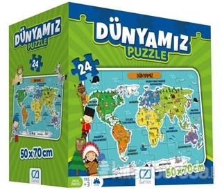 CA Games Dünyamız - 24 Parça Yer Puzzle