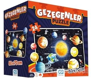 CA Games Gezegenler - Eğitici Yer Puzzle