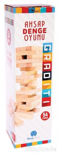 CA Games Graditi - Ahşap Denge Oyunu (Küçük Boy)