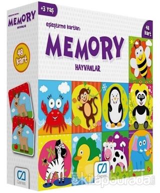 CA Games Hayvanlar - Memory Eşleştirme Kartları
