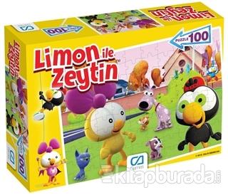 CA Games Limon ile Zeytin Puzzle (100 Parça)