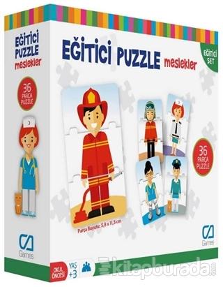 CA Games Meslekler - Eğitici Puzzle