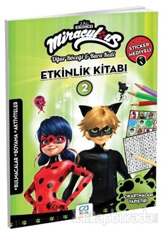 CA Games Miraculous - Etkinlik Kitabı 2