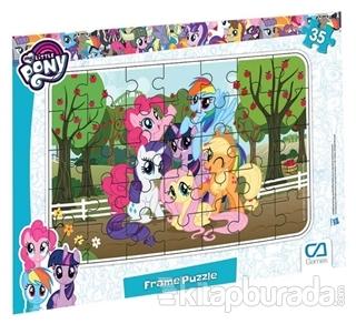 CA Games My Little Pony - Frame Puzzle 35 Parça 3 Çeşit (Asorti 12'li Paket) İadesizdir
