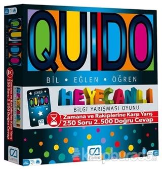 CA Games Quido Board Game - Eğitici Puzzle