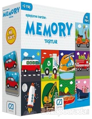 CA Games Taşıtlar - Memory Eşleştirme Kartları