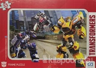 CA Games Transformers - Frame Puzzle 1 - Yeşil (35 Parça)