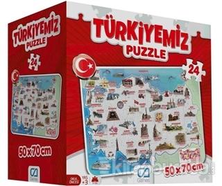 CA Games Türkiyemiz - 24 Parça Yer Puzzle