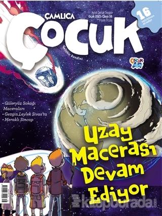 Çamlıca Çocuk Dergisi Sayı: 56 Ocak 2021 Kolektif