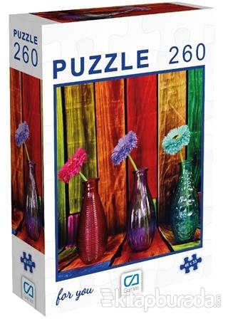 Çiçekler - 260 Parça Puzzle