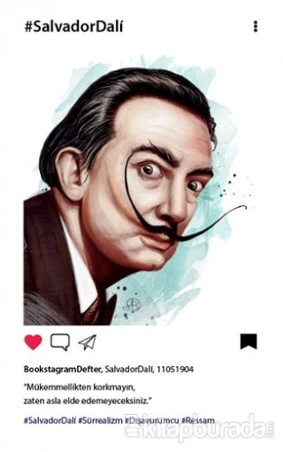 Dali - Bookstagram Defter