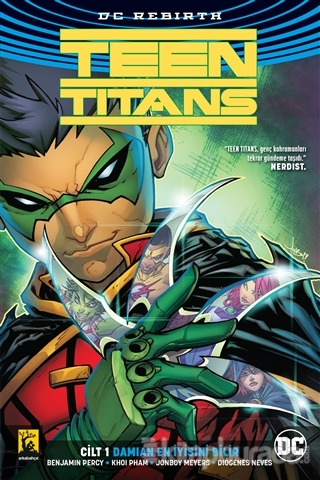Damian En İyisini Bilir Cilt 1 - Teen Titans