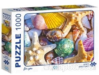 Deniz Kabukları - 1000 Parça Puzzle
