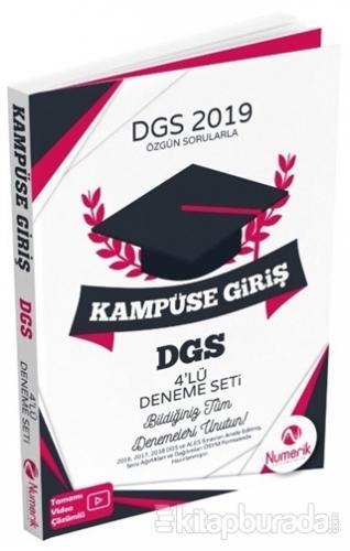 DGS 2019 Kampüse Giriş 4'lü Deneme Seti