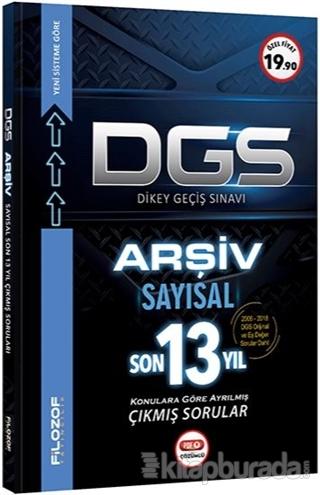 DGS Arşiv Sayısal Son 13 Yıl Konularına Göre Ayrılmış Çıkmış Sorular