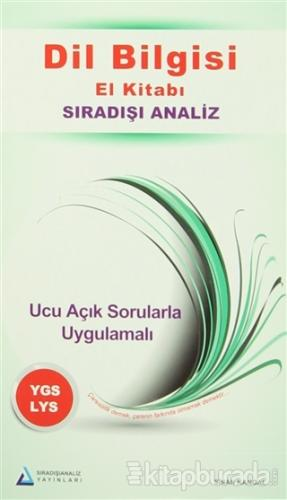 Dil Bilgisi El Kitabı Sıradışı Analiz YGS - LYS