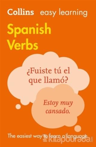 Easy Learning Spanish Verbs %15 indirimli Kolektif