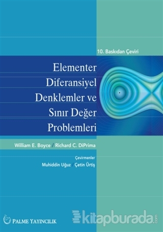 Elementler Diferansiyel Denklemler ve Sınır Değer Problemleri