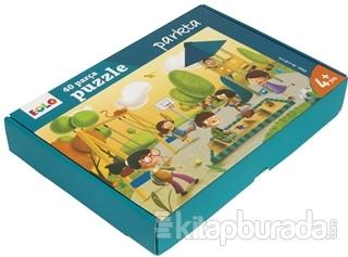 Eolo Parkta - 40 Parça Yer Puzzle