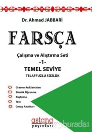 Farsça Çalışma ve Alıştırma Seti 1 - Temel Seviye