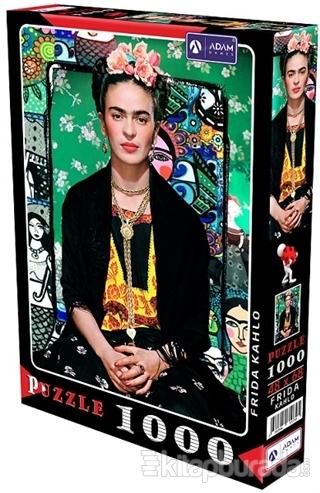 Frida Kahlo 1000 Parça Puzzle
