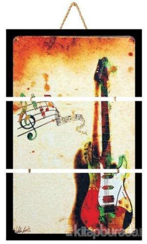Gitar Üçlü Poster