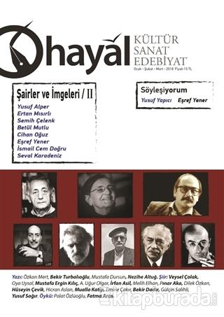 Hayal Kültür Sanat Edebiyat Dergisi: 64 (Ocak-Şubat-Mart) 2018