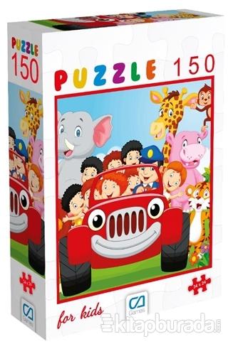 Hayvanlar - 150 Parça Puzzle