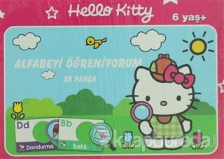 Hello Kitty Alfabeyi Öğreniyorum 58 Parça Puzzle