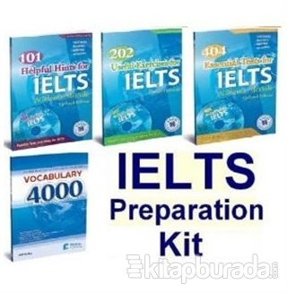 IELTS Preparation Kit –IELTS Hazırlık Seti (4 Kitap +Audio)