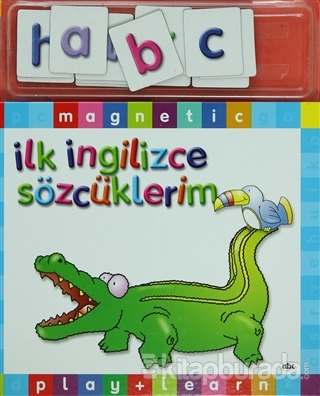 İlk İngilizce Sözcüklerim (Play+Learn) (Ciltli)