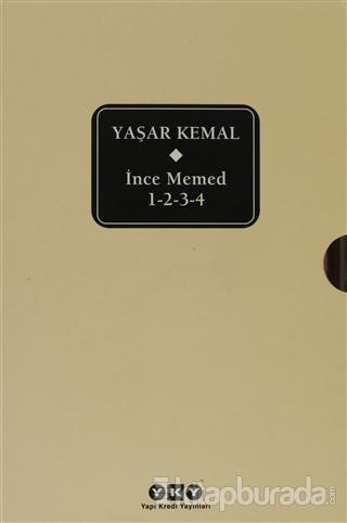 İnce Memed 1 - 2 - 3 - 4 %25 indirimli Yaşar Kemal