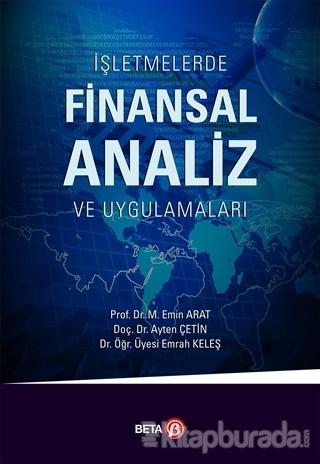 İşletmelerde Finansal Analiz ve Uygulamalar