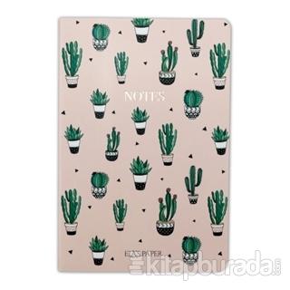 Kaktüs Pembe Notebook - Defter