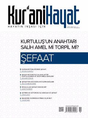 Kur'ani Hayat Dergisi/ Şefaat / Kasım-Aralık 2016 50.Sayı