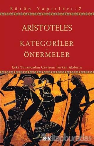 Kategoriler - Önermeler Aristoteles
