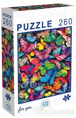 Kelebekler - 260 Paça Puzzle