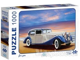 Klasik Araba - 1000 Parça Puzzle