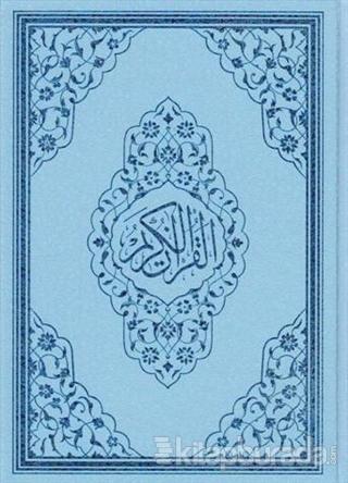 Kur'an-ı Kerim (Mavi Kapaklı) (Ayfa 124M) (Ciltli)