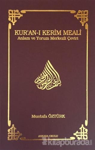 Kur'an-ı Kerim Meali (Orta Boy) (Ciltli)