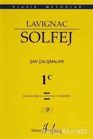 Lavignac Solfej 1C - Küçük Boy