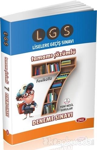 LGS Tamamı Çözümlü 7 Deneme Sınavı