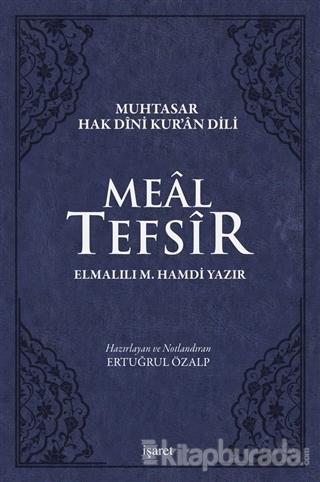 Meal Tefsir - Muhtasar Hak Dini Kur'an Dili (Mavi Renkte) (Ciltli)
