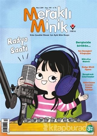 Meraklı Minik Çocuk Dergisi Sayı: 147 Mart 2019